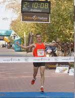 Ganador Carlos Castillejo 2 horas 10 minutos 08n segundos